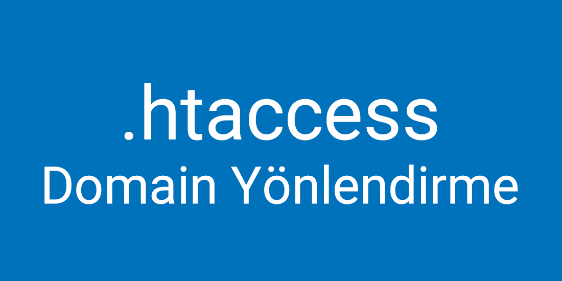 htaccess-domain-yonlendirme